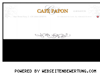 Ranking Webseite cafe-papon.com