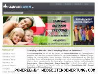 Ranking Webseite campingladen.de