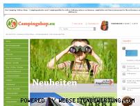 Ranking Webseite campingshop.eu