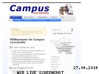 Informationen zur Webseite campus-homburg.de