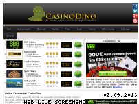Ranking Webseite casinodino.com