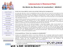 Informationen zur Webseite cdl-rlp.de