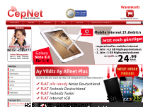 Ranking Webseite cepnet.de