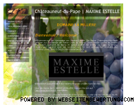 Ranking Webseite chateauneuf2009.com