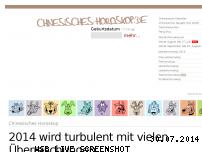 Informationen zur Webseite chinesisches-horoskop.de