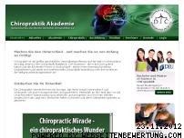 Ranking Webseite chiropraktik-akademie.de