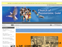 Ranking Webseite church-of-monoatomic-gold.org