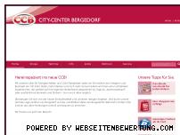 Ranking Webseite citycenter-bergedorf.de