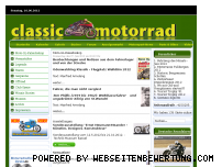 Ranking Webseite classic-motorrad.de