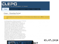 Ranking Webseite clepo.de