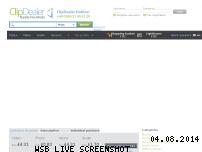 Ranking Webseite clipdealer.com