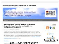 Informationen zur Webseite cloud-services-made-in-germany.de