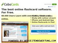 Ranking Webseite cobocards.com
