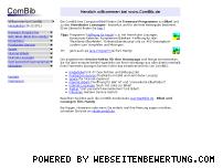 Ranking Webseite combib.de