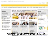 Ranking Webseite commerzbank.de