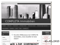 Ranking Webseite completa-immobilien.de