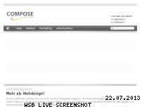 Ranking Webseite compose.de