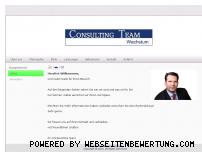 Ranking Webseite consultingteamgmbh.de