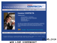 Informationen zur Webseite contecta-inc.de