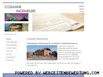 Ranking Webseite cosanne-ingenieure.de