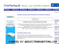 Ranking Webseite cost-saving.de