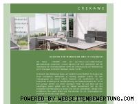 Ranking Webseite crekawe.ch