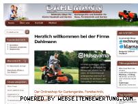 Ranking Webseite dahlmann-home.de