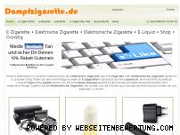 Ranking Webseite dampfzigarette.de