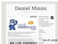 Ranking Webseite danielminini.de