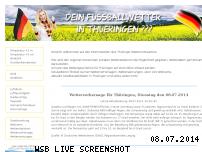 Informationen zur Webseite dasthueringenwetter.de