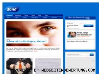 Informationen zur Webseite dbna.de