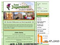 Ranking Webseite de.hotel-jugendstil.com