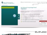 Ranking Webseite dealhotels.de