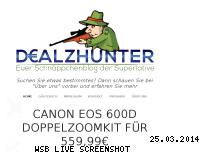 Informationen zur Webseite dealzhunter.de