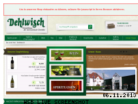 Ranking Webseite dehlwisch.de