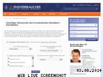 Ranking Webseite dentallabor.die-endverbraucher.de