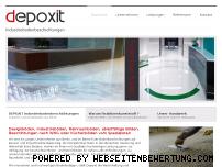Informationen zur Webseite depoxit-berlin.de