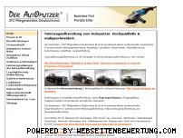 Ranking Webseite der-autoputzer.de