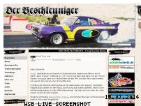 Ranking Webseite der-beschleuniger.de