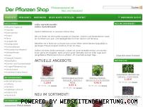 Ranking Webseite der-pflanzen-shop.de