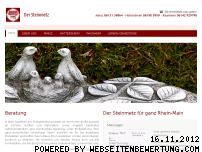 Ranking Webseite der-steinmetz-mainz.de