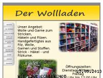 Ranking Webseite der-wollladen-wiggensbach.de