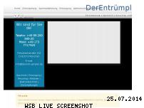 Informationen zur Webseite derentruempler.de