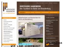 Informationen zur Webseite deryckere-handwerk.de