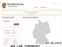 Informationen zur Webseite detektivsuche.de