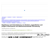 Ranking Webseite deutscher-kinderhospizverein.de