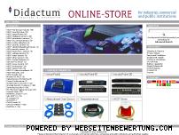 Informationen zur Webseite didactum.de
