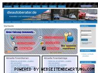 Ranking Webseite dieautoberater.de