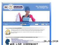 Informationen zur Webseite diehaushaltshilfen-franchise.de