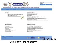 Informationen zur Webseite diehaushaltshilfen24.de